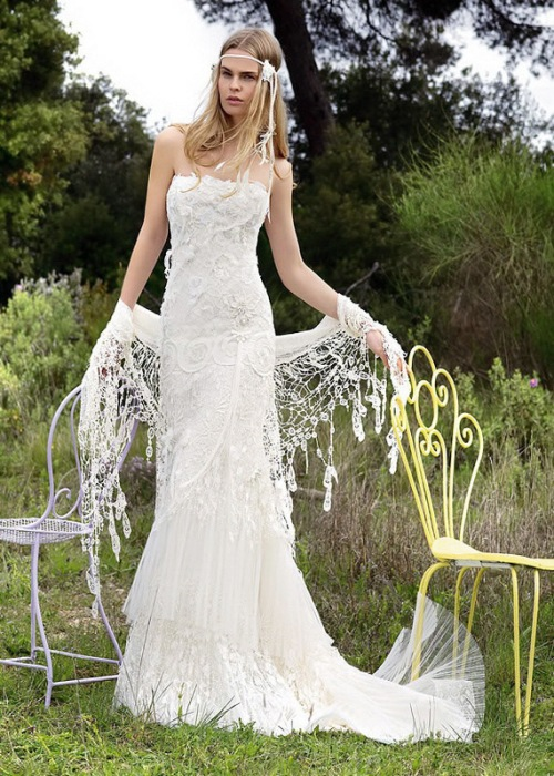 Bohemian Hippie Style Wedding Dresses Wearing bohemian dress only is